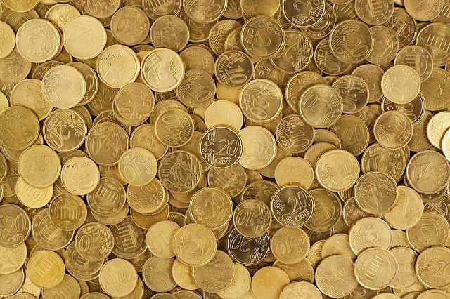 hromada centů