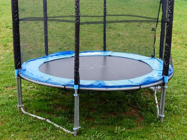 sítě na trampolínu