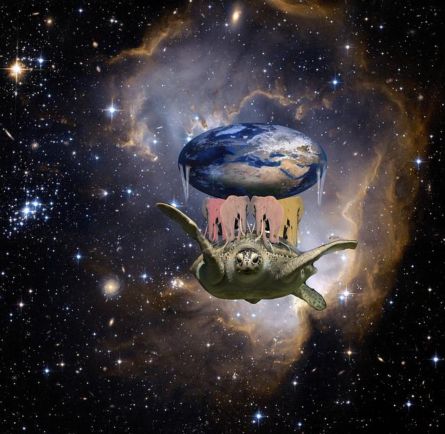 vesmírná želva