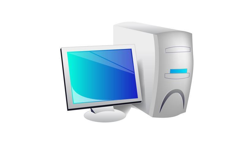 kreslený počítač